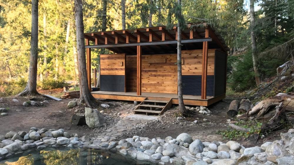 Halfway Hot Springs - Nakups BC - Natural Hot Spring Pools - Camping Gallery 3