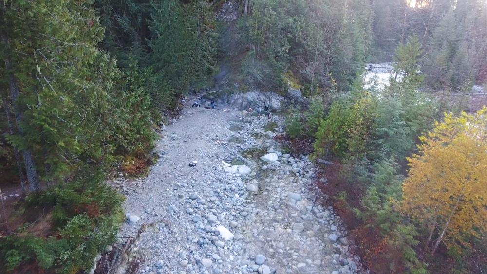 Halfway Hot Springs - Nakups BC - Natural Hot Spring Pools - River Pools